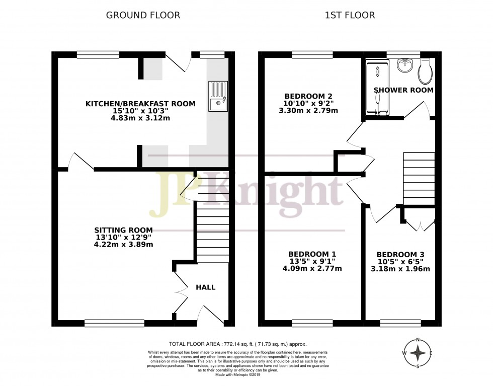 Floorplan for Springdale, Wallingford