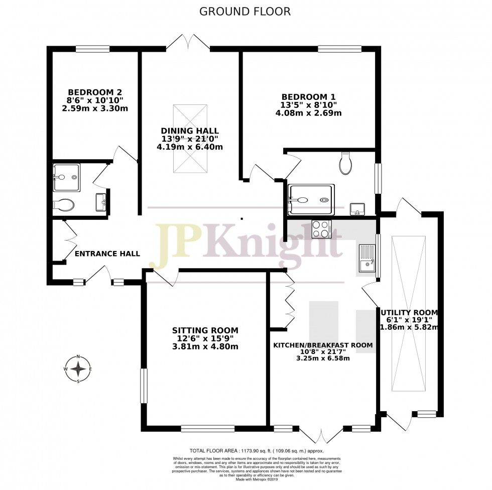 Floorplan for Henfield View, Warborough