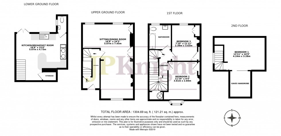 Floorplan for Milward Terrace, St. Leonards Lane, Wallingford