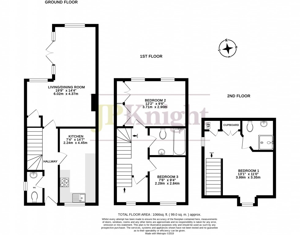 Floorplan for Sovereign Place, Wallingford