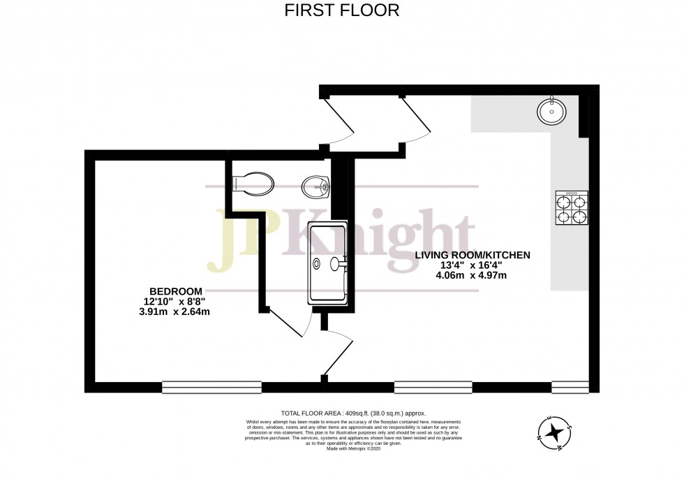 Floorplan for St. Marys Street, Wallingford