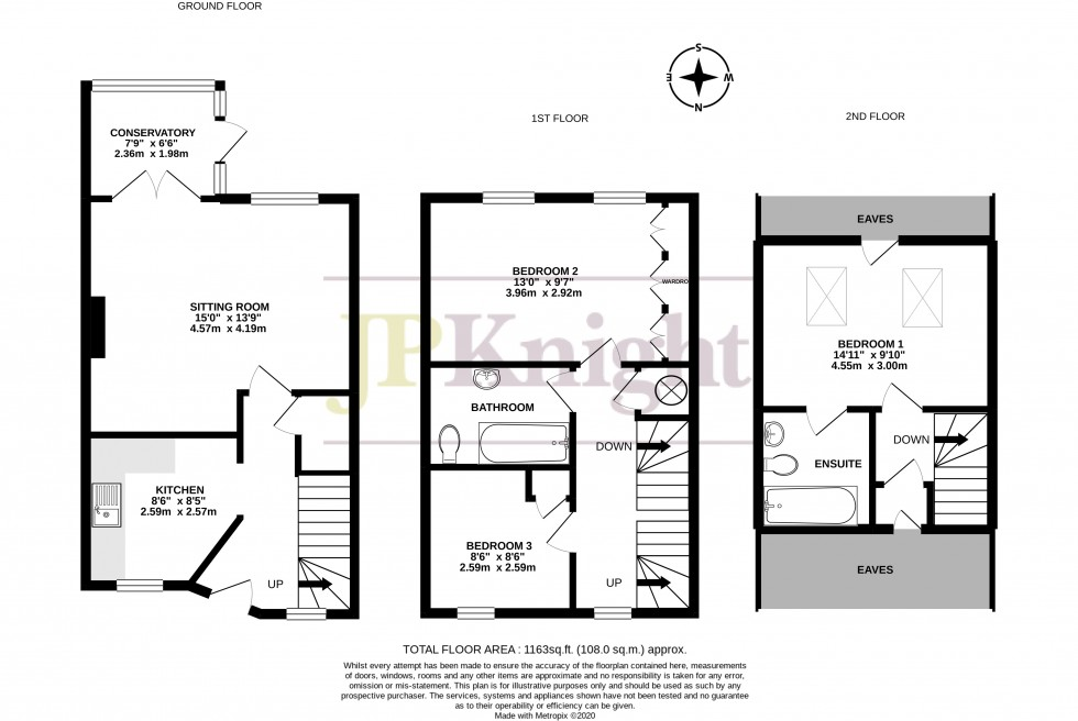 Floorplan for The Murren, Wallingford