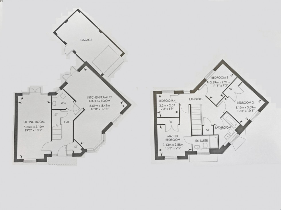 Floorplan for Nosworthy Way, Wallingford