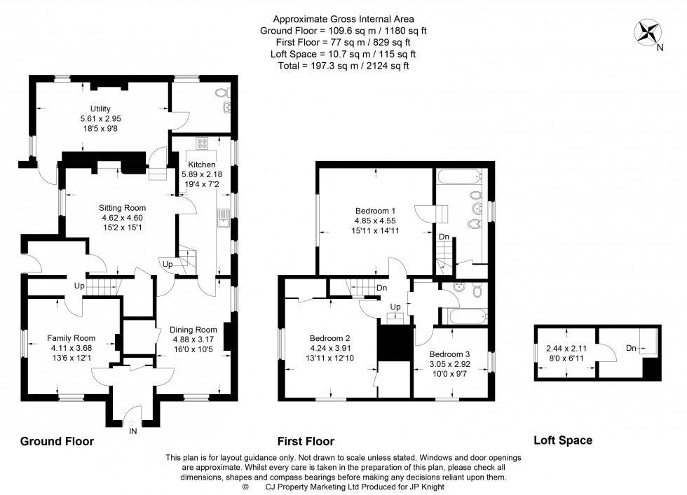 Floorplan for Ilges Lane, Cholsey