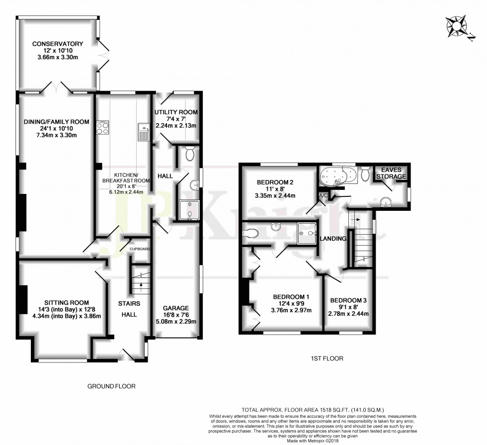 Floorplan for Wantage Road, Wallingford